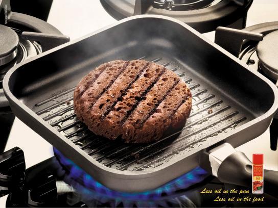 PAM Print Ad -  Hamburger