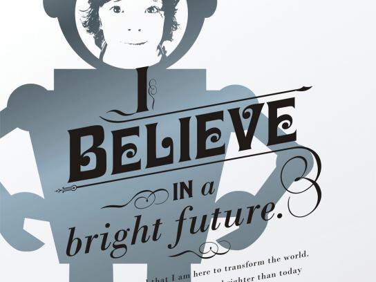 Presidium Print Ad -  I believe in a bright future