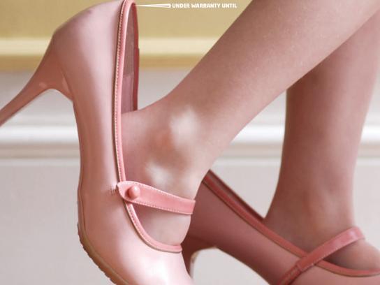 KIA Print Ad -  Shoe
