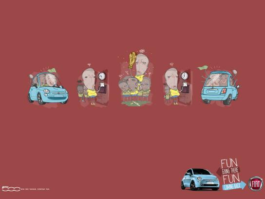 Fiat Print Ad -  World champion