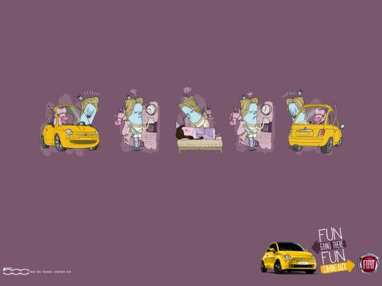 Fiat Print Ad -  Prince charming