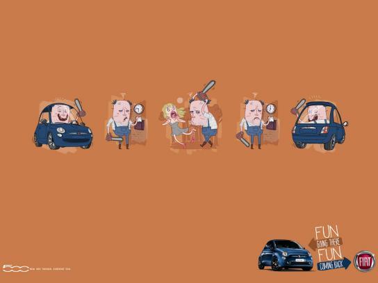 Fiat Print Ad -  Serial killer