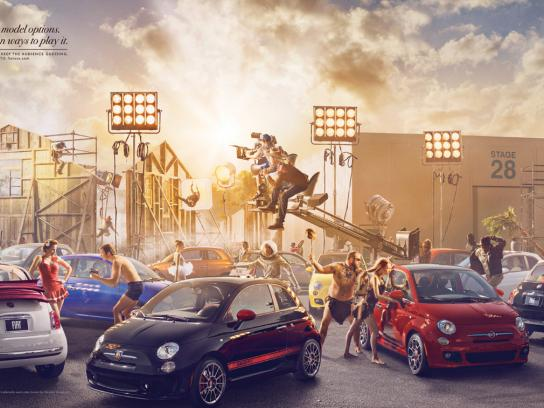 Fiat Print Ad -  Eight model options