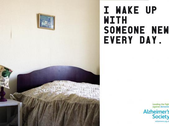 Alzheimer's Society Print Ad -  Someone new