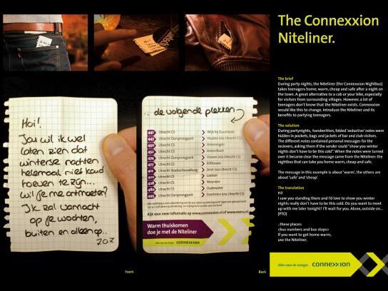 Connexxion Niteliner Ambient Ad -  Seductive notes