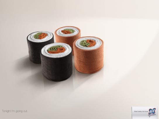 Ace Print Ad -  Sushi
