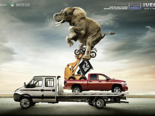 Iveco Print Ad -  Elephant