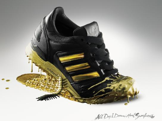 Adidas Outdoor Ad -  All Day I Dream About Sneakers, Midas