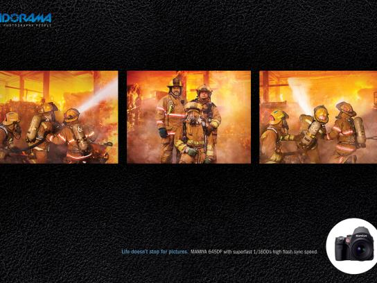 Adorama Print Ad -  Fire