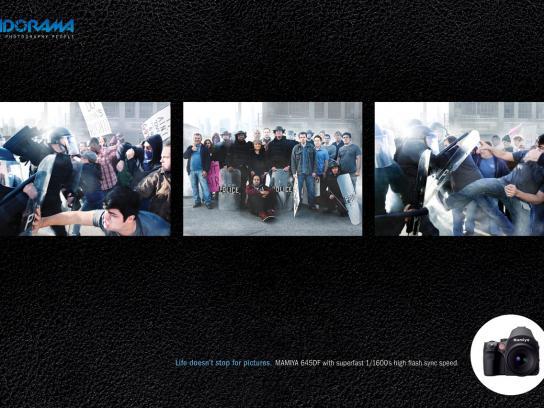 Adorama Print Ad -  Riot