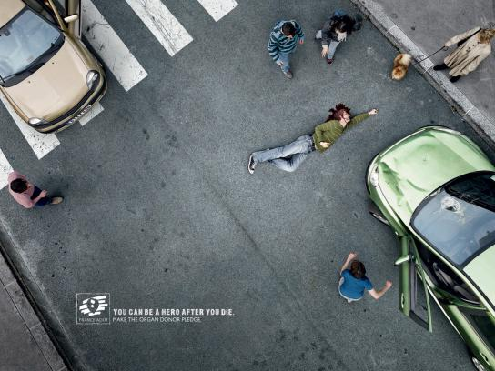ADOT Print Ad -  The Accident