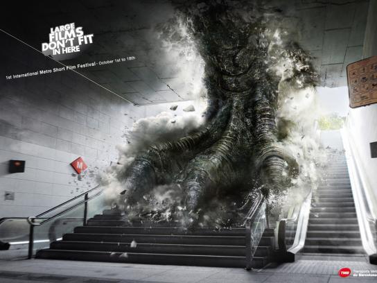 TMB Print Ad -  Godzilla