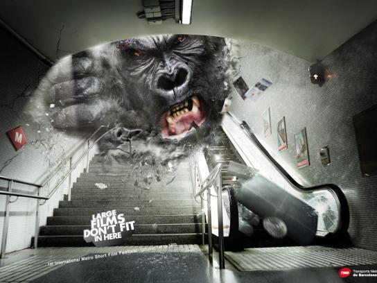 TMB Print Ad -  King Kong