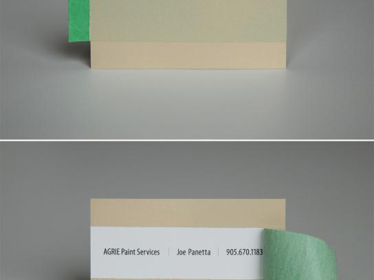 Agrie Direct Ad -  Business card