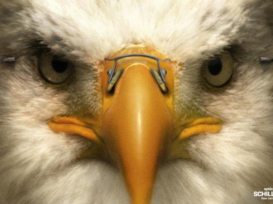 Ópticas Schilling Print Ad -  Eagle