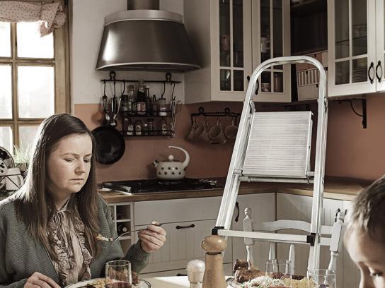 Amnesty International Print Ad -  Ladder