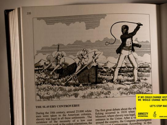 Amnesty International Print Ad -  Slavery