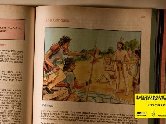 Amnesty International Print Ad -  Conquest