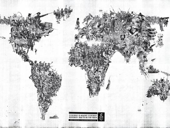 Amnesty International Print Ad -  World