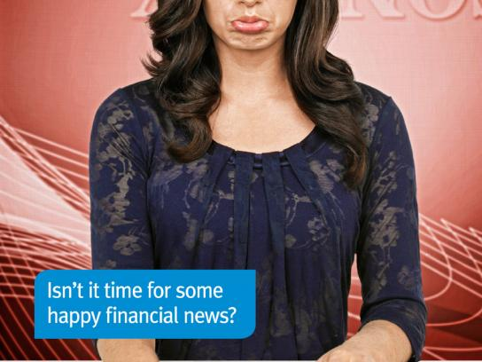 ANZ Print Ad -  Happy, 2