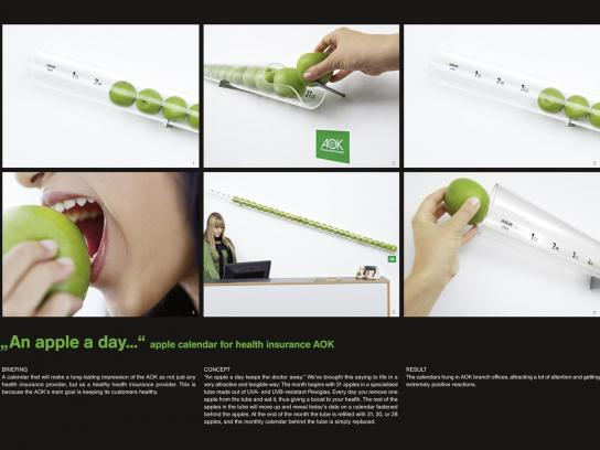 AOK Ambient Ad -  Apple Calendar