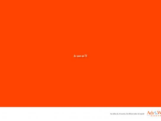 Ads of the World Print Ad -  TV