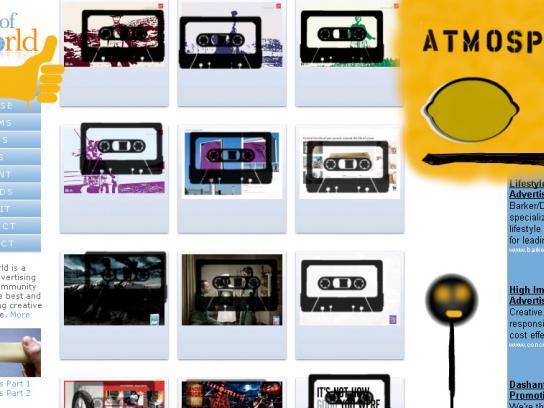 Rhymesayers Digital Ad -  Tag the Web