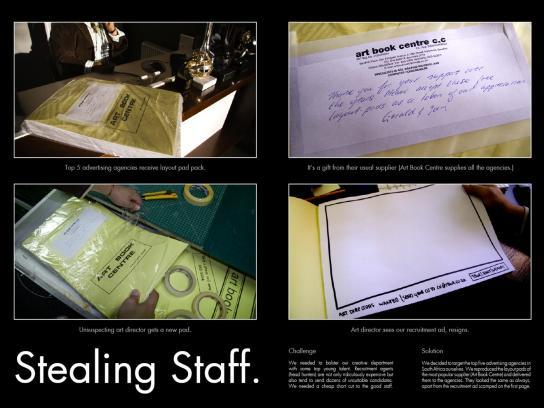 Stealing Staff