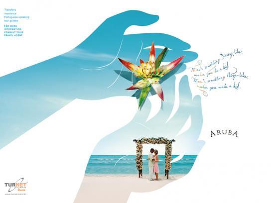Turnet Print Ad -  Aruba, 1