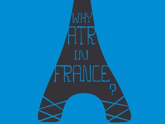 ATR Print Ad -  France