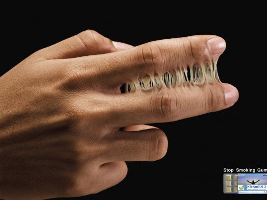 Nicomild Print Ad -  Finger