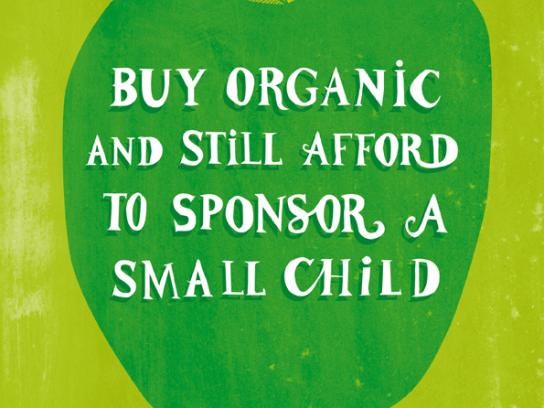About Life Print Ad -  Affordable Organics, Small Child