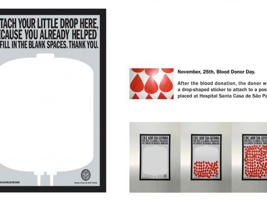 Santa Casa Outdoor Ad -  Little Drop