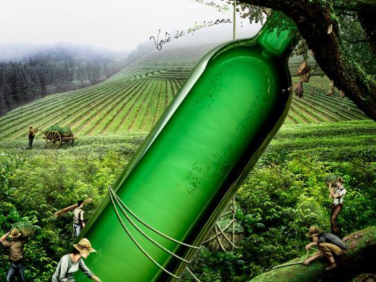 Acavitis Print Ad -  Bottle