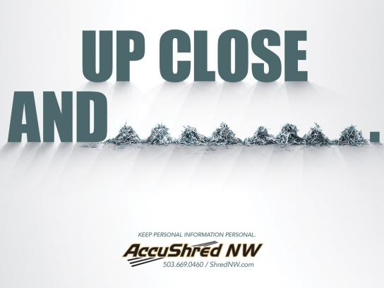 Accushred Print Ad -  Personal