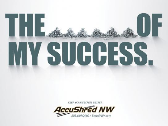Accushred Print Ad -  Secret