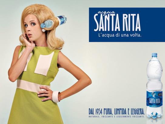 Santa Rita Print Ad -  Girl