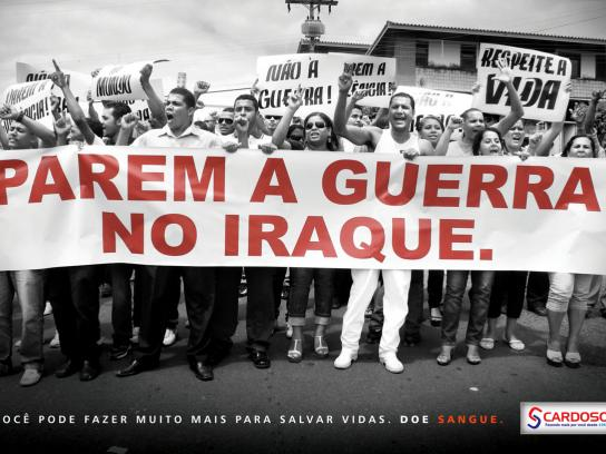 Cardoso Print Ad -  Protests, 1
