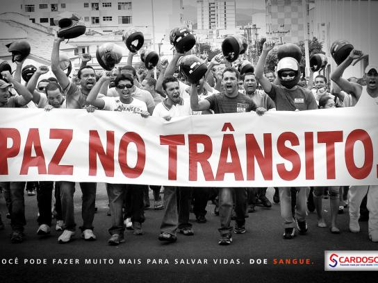 Cardoso Print Ad -  Protests, 2