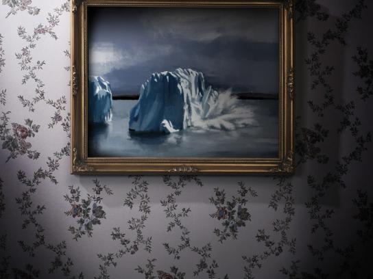 WWF Print Ad -  Iceberg