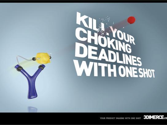 3Dimerce Print Ad -  Slingshoot