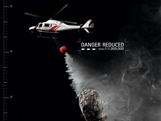 Agusta Westland Print Ad -  Danger