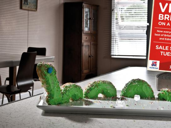 Air Asia Print Ad -  Loch Ness