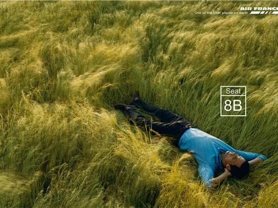 Air France Print Ad -  Field