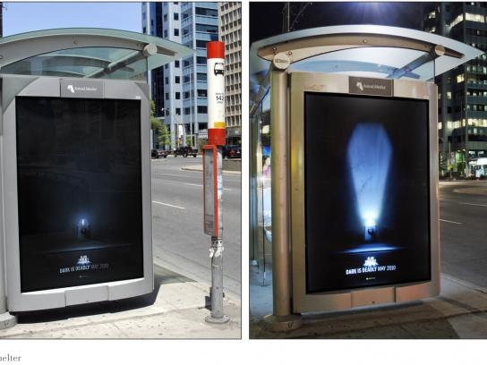 Xbox Outdoor Ad -  Transit shelter