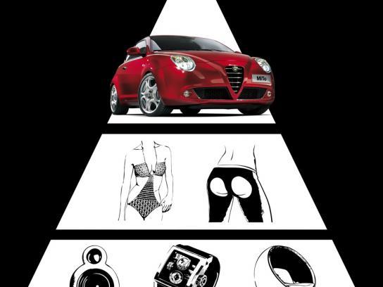 Alfa Romeo Print Ad -  Deviant beauty