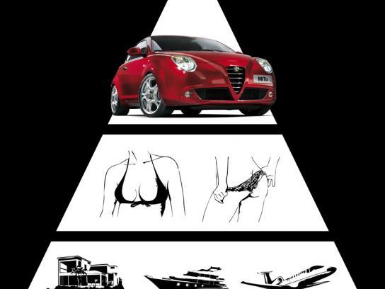 Alfa Romeo Print Ad -  Deviant desire