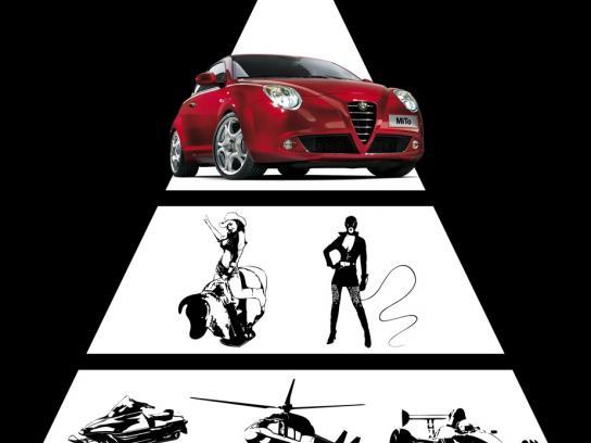 Alfa Romeo Print Ad -  Deviant thrill