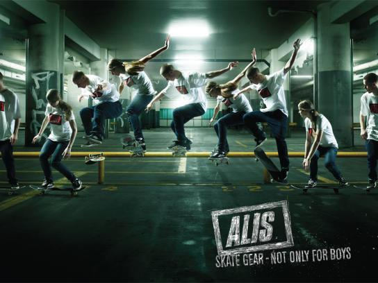 Alis Print Ad -  Not only for Boys