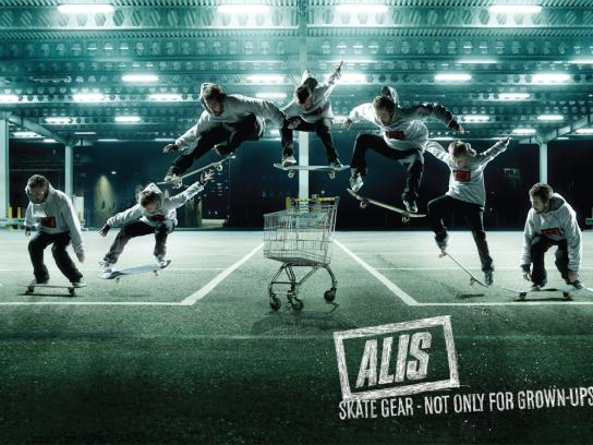 Alis Print Ad -  Not only for Grown-ups